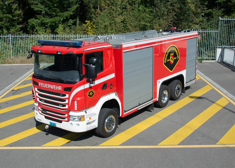 Gross - Tanklöschfahrzeug BF Bern
