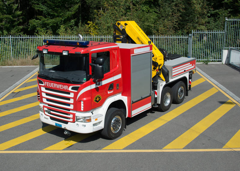 Kranwagen BF Bern