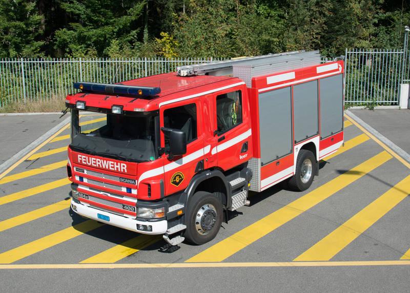 Tanklöschfahrzeug BF Bern